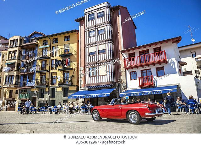 Port of Bermeo. Urdaibai Region. Bizkaia. Basque Country. Spain