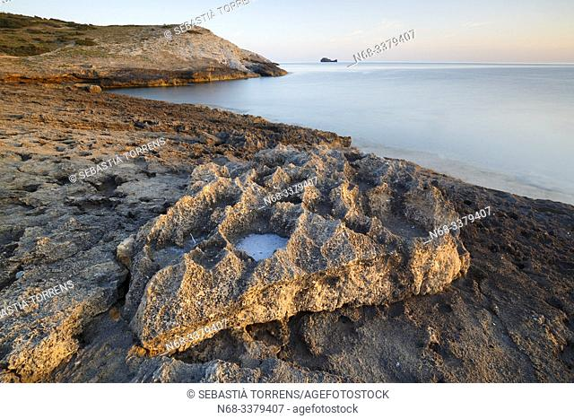 Rocks at the coast of Artà, Majorca, Spain