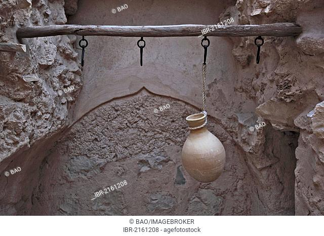 Well in Fort Nizwa, Oman, Arabian Peninsula, Middle East, Asia