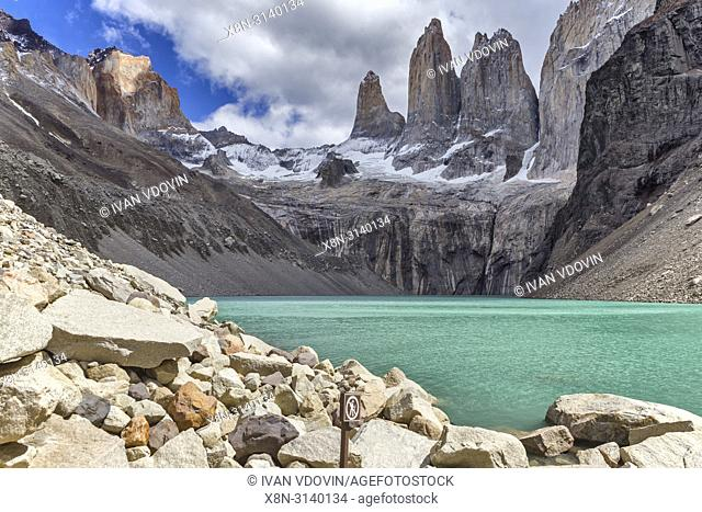 National park Torres del Paine, Magallanes region, Patagonia, Chile
