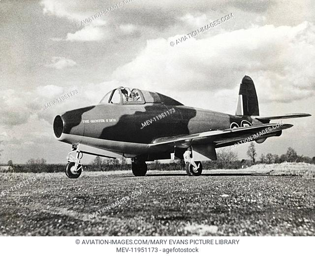 Royal Air Force RAF Gloster E28/39 Prototype Parked