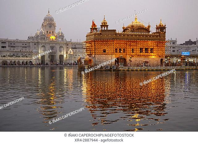 Harmandir Sahib, Golden Temple, Amritsar, Punyab, India
