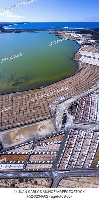 Salinas de Janubio, La Hoya, Lanzarote Island, Canary Islands, Spain, Europe
