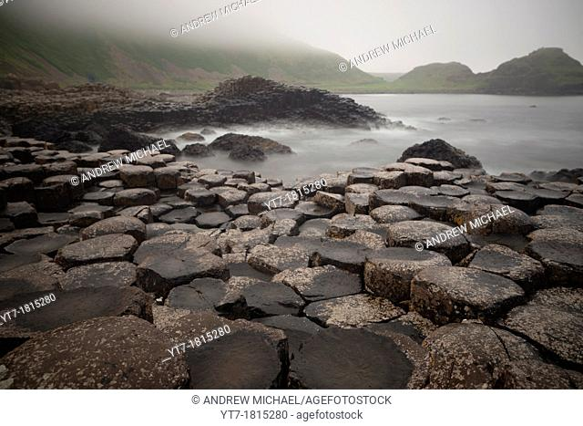 Giants Causeway, County Antrim, Northern Ireland, UK