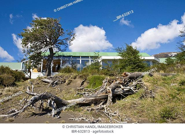 Hosteria Lago Grey, Torres del Paine National Park, Patagonia, Chile, South America