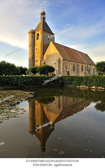 Church of Prouais, Commune of Boutigny-Prouais, Eure-et-Loir department, Centre-Val de Loire region, France, Europe