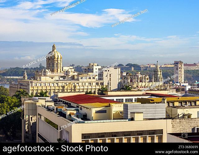 Museum of the Revolution, elevated view, Havana, La Habana Province, Cuba