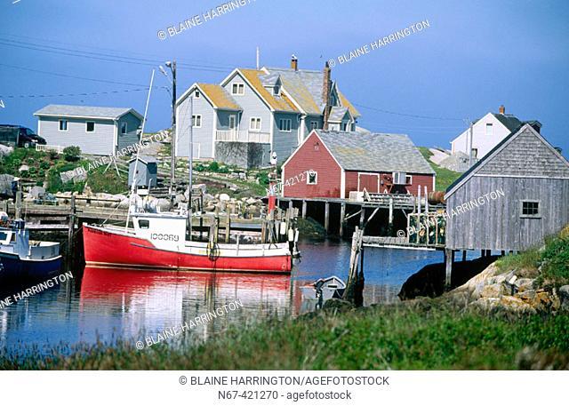 Peggy's Cove, Halifax County. Nova Scotia, Canada