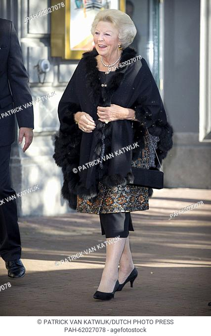Princess Beatrix of The Netherlands attends the closure event of the celebration of 200 years kingdom of the Netherlands at Carre at the Amstel in Amsterdam