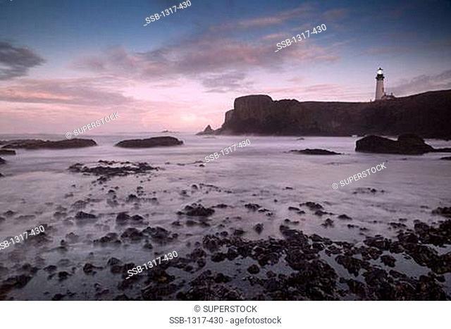 Yaquina Head Lighthouse, Oregon, USA