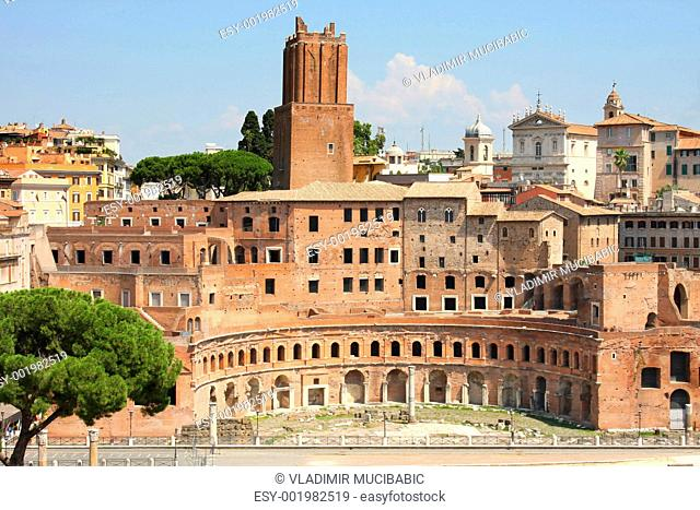 Trajan Market Mercati Traianei in Rome, Italy