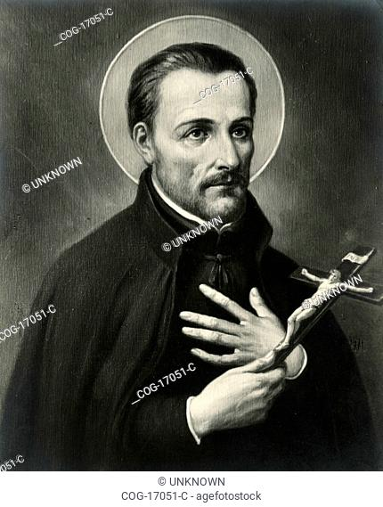 Portrait of Saint Ioannes Franciscus Regis