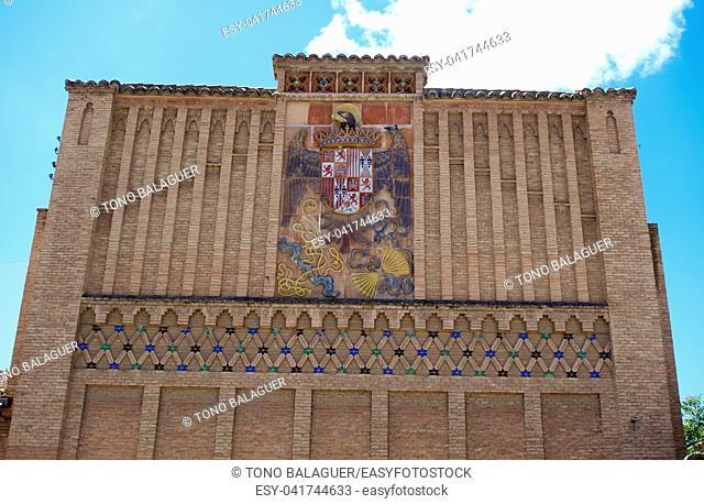 Sofer square facade in Toledo of Spain