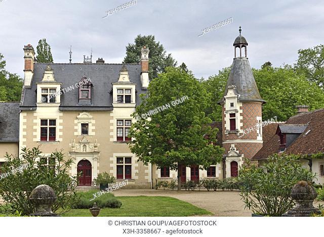 Chateau de Troussay, departement Loir-et-Cher, region Centre-Val de Loire, France, Europe/Chateau de Troussay, Loir-et-Cher department