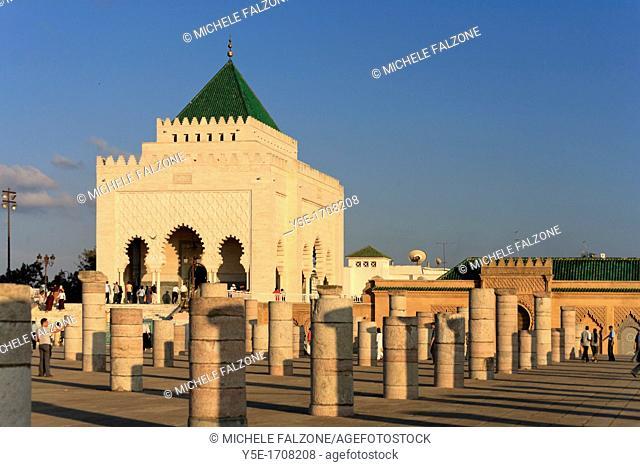 Morocco, Mausoleum Mohammed V