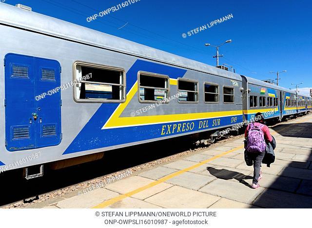 Bolivia, Departamento de Oruro, Oruro, Oruro is the starting point for the train to the Salar de Uyuni