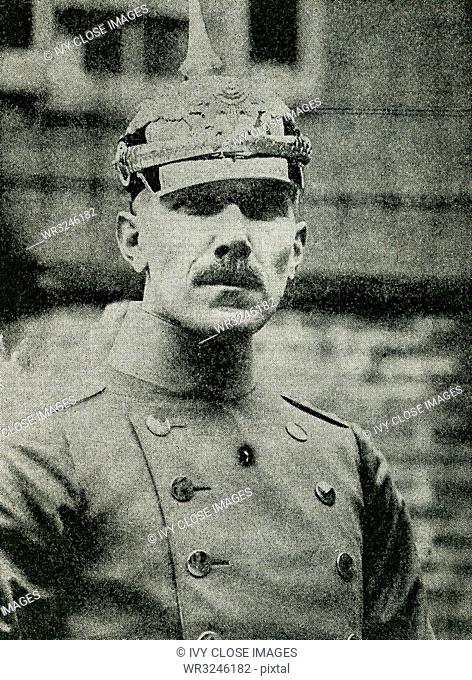 Captain Franz von Papen