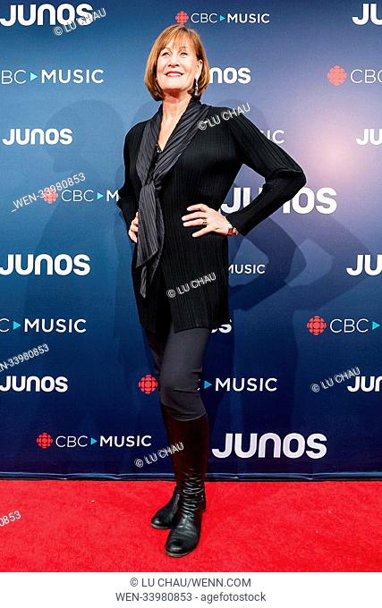2018 JUNO Awards, held at the Rogers Arena in Vancouver, Canada. Featuring: Denise Donlon Where: Vancouver, British Columbia