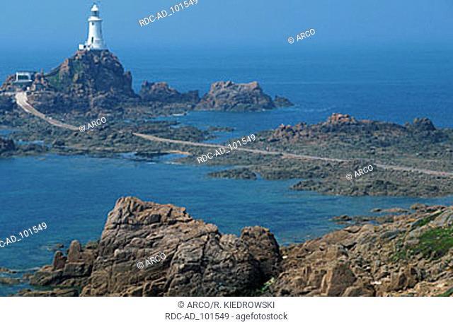 Corbiere Lighthouse Jersey Channel Islands Great Britain