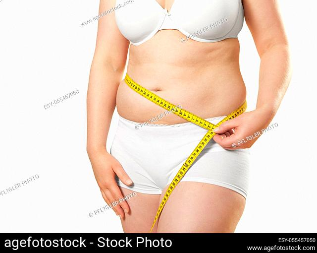 dieting, overweight, abdominal size, weight loss