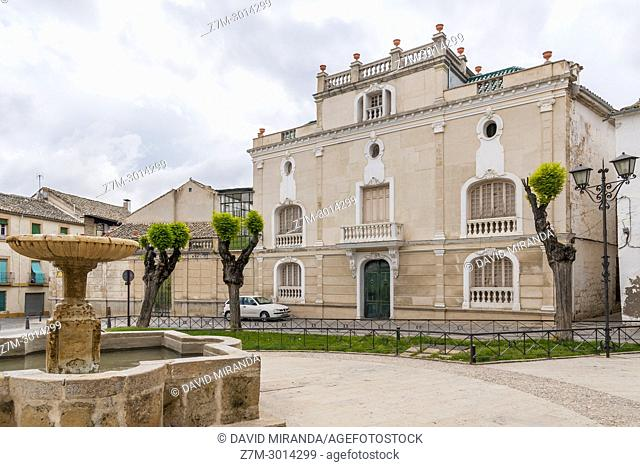 Plaza de San Pedro. Ubeda. Jaen Province. Andalusia. Spain