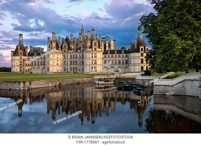 Chateau Chambord, Loire Valley, Centre France