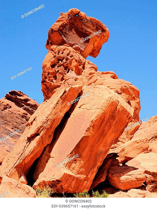 Views from the Valley Of Fire near Las Vegas, Nevada