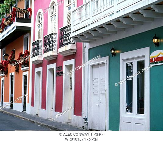 Old San Juan, Puerto Rico, Caribbean, colonial town