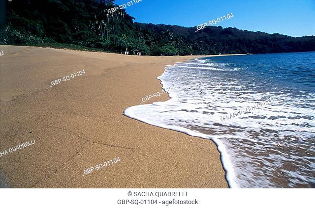 Sand, sea, Ilha Grande, RJ