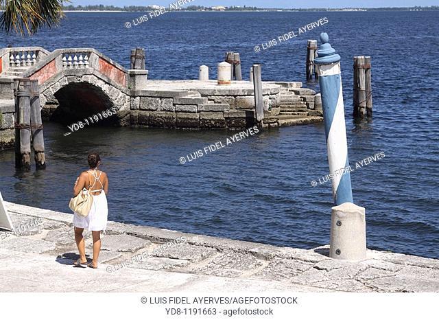 Vizcaya Park, Miami, Florida, USA