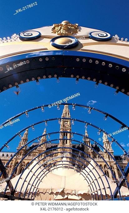 city hall Vienna, Austria, Vienna, 1. district, city hall