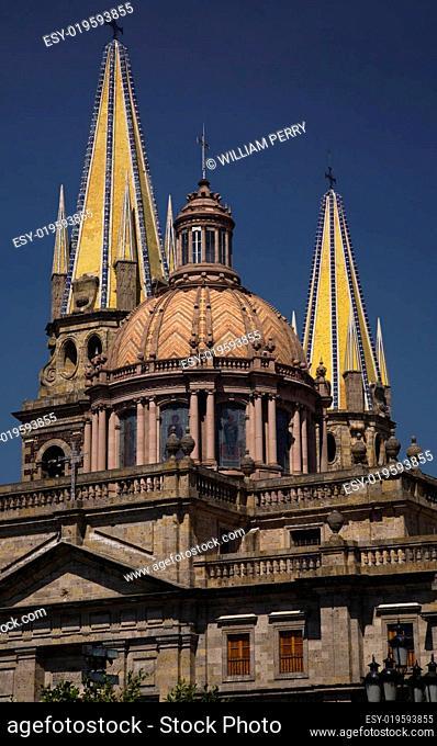 Metropolitan Cathedral Guadalajara Mexico