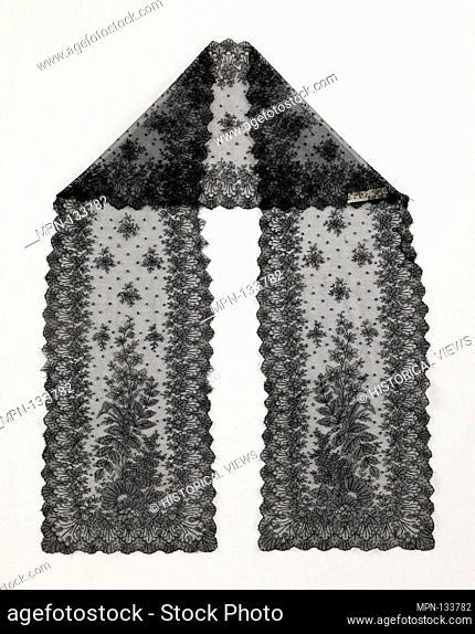 Scarf. Date: ca. 1870; Culture: French; Medium: silk