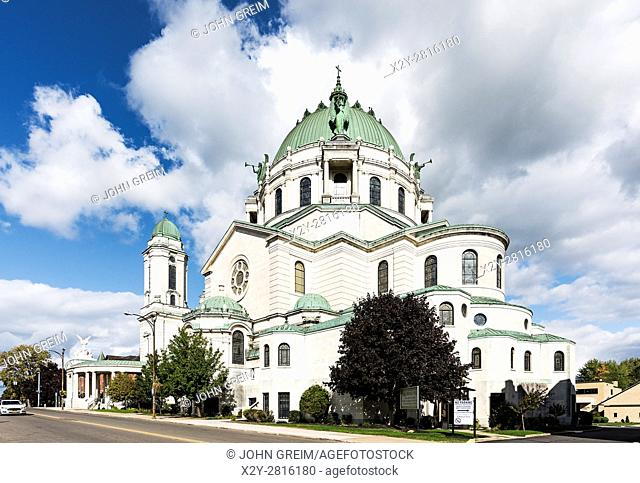 Our Lady of Victory Basilica exterior, Lackawanna, New York, USA