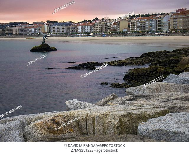 Sangenjo. Pontevedra. Galicia. España