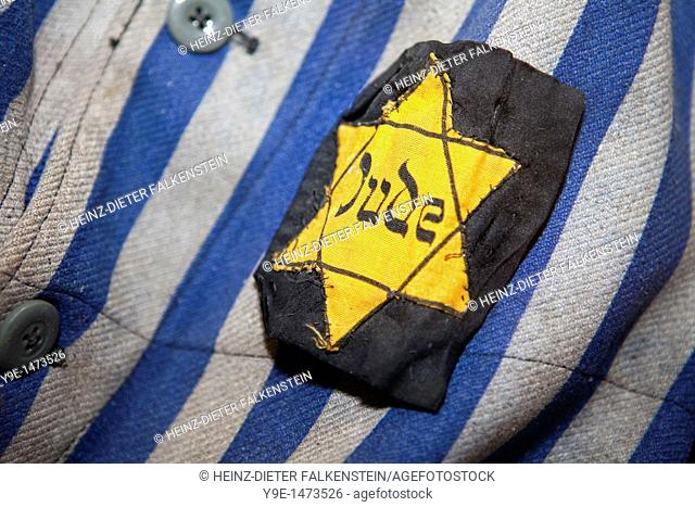 Jewish badge, Sign with Davids star