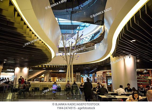 Westfield Sydney shopping centre, Sydney, Australia