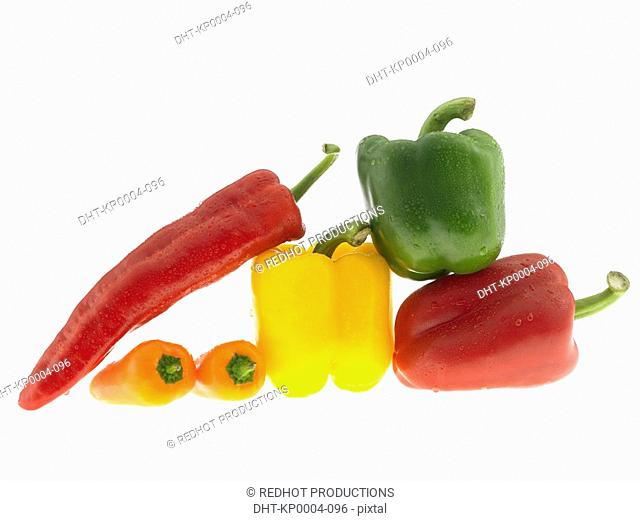 Six Mixed Peppers