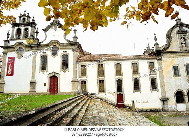 Church and monastery of 3rd Order of San Francisco in Vinhais, Vila Real, Portugal