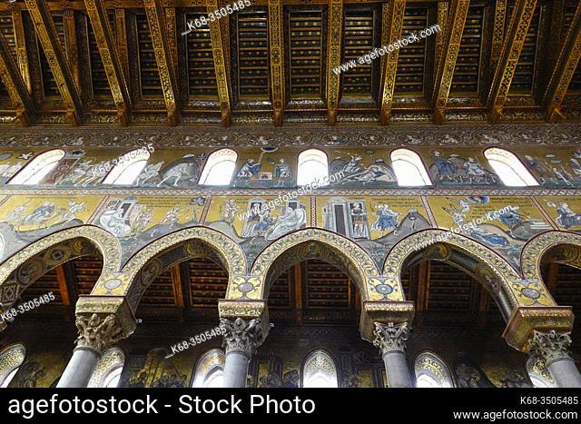 The Duomo of Monreale, near Palermo, Sicily, Italy