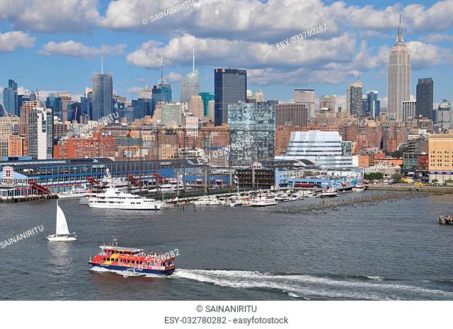 View of Manhattan, New York