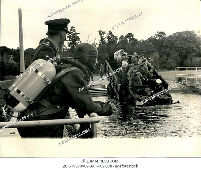 Sep. 09, 1967 - Unison 67 demonstration Land day at Chobham; The main purposes of all Unison studies is to bring together senior officers and officials from...