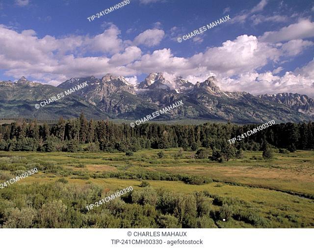 Wyoming, Grand Teton National Park, Tetons
