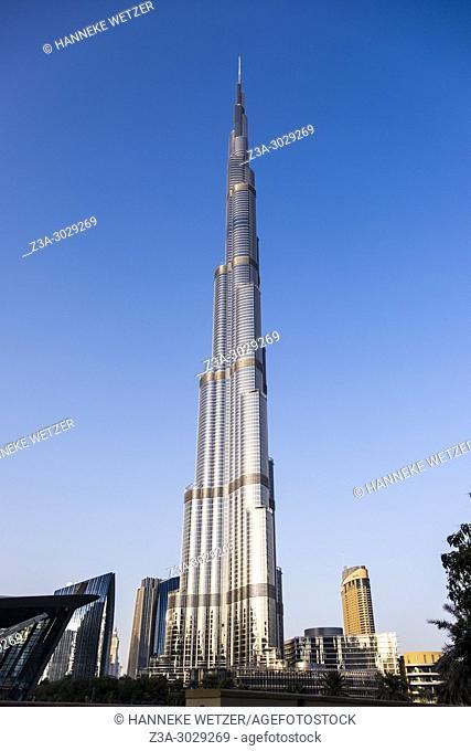 The Burj Khalifa in Dubai, highest building of the world