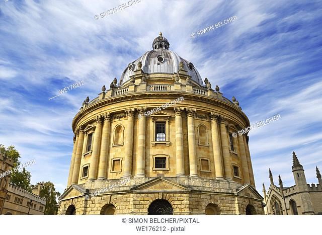 Radcliffe Camera, Oxford, England, United Kingdom