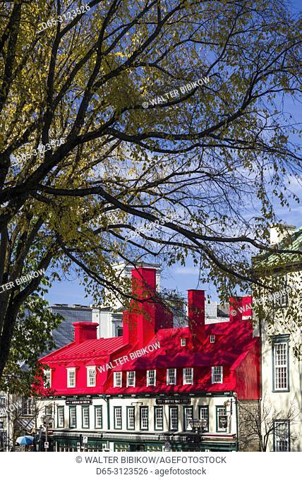 Canada, Quebec, Quebec City, Hotel Auberge du Tresor and Bistro 1640