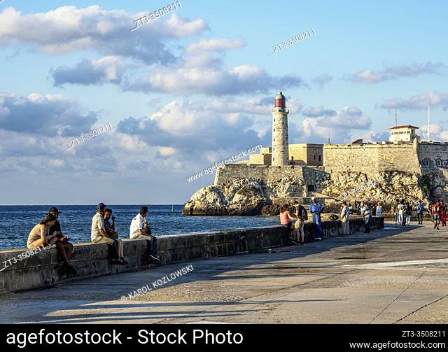 El Morro Castle and Lighthouse, Havana, La Habana Province, Cuba