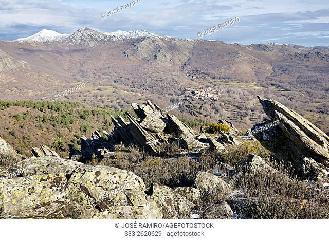 El Cardoso de la Sierra and the Sierra Norte. Guadalajara. Castilla la Mancha. Spain. Europe