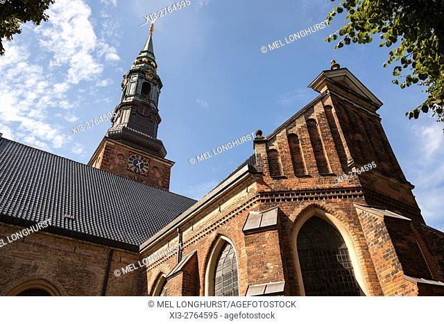 St Peterâ. . s Church, Sankt Petri Kirke, Copenhagen, Denmark