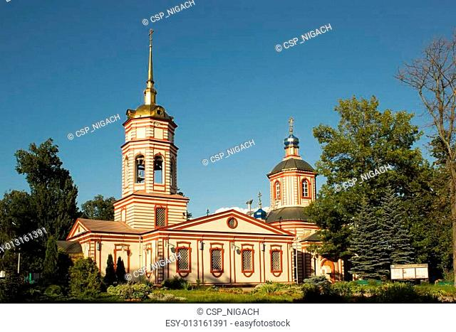 Temple of the Exaltation of the Holy Cross in Altufevo. Moscow